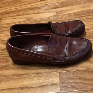 Cole Haan Handsewn Made in Brazil Penny Loafers